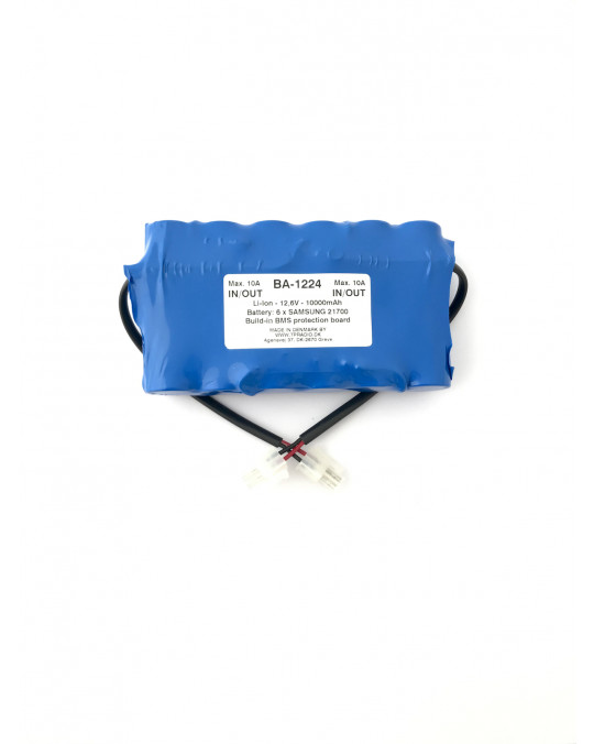 12.6V Backup Battery Li-Ion