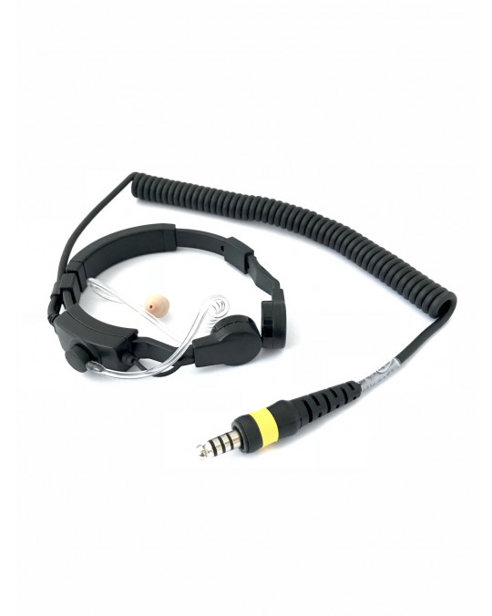 Throat Mic Headset