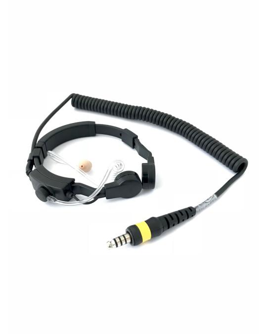 Throat Mic Headset