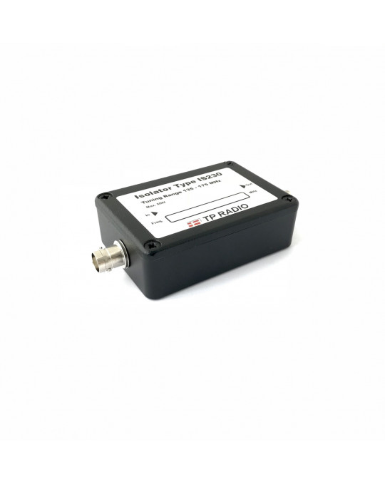 Single Isolator VHF 146-174 MHz