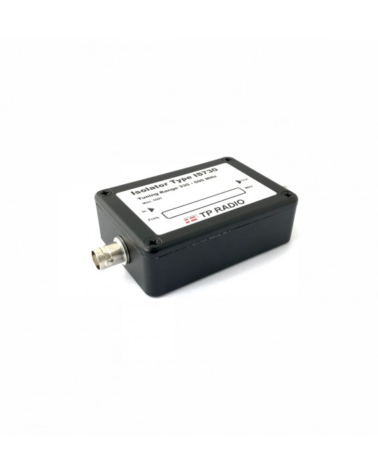 Single Isolator UHF 400-470 MHz