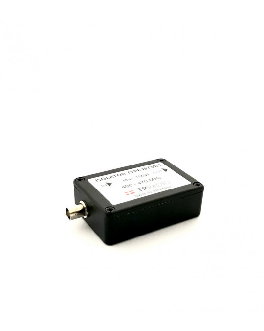 Single Isolator 100W - UHF 400-470 MHz