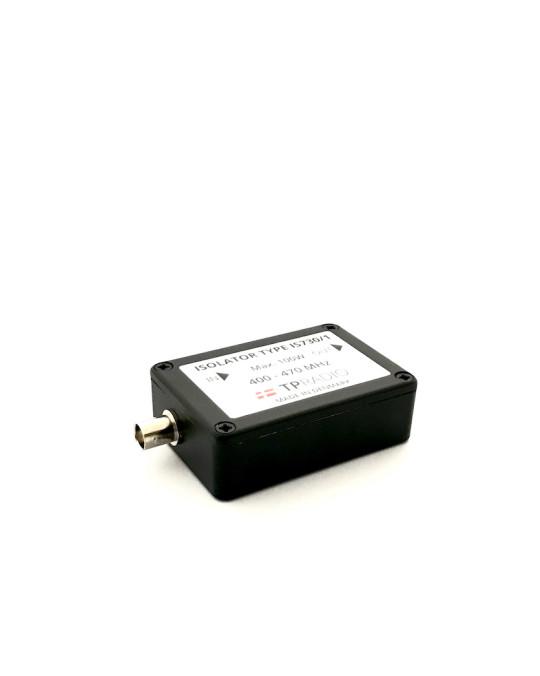 Single Isolator 100W - UHF 400-470 MHz